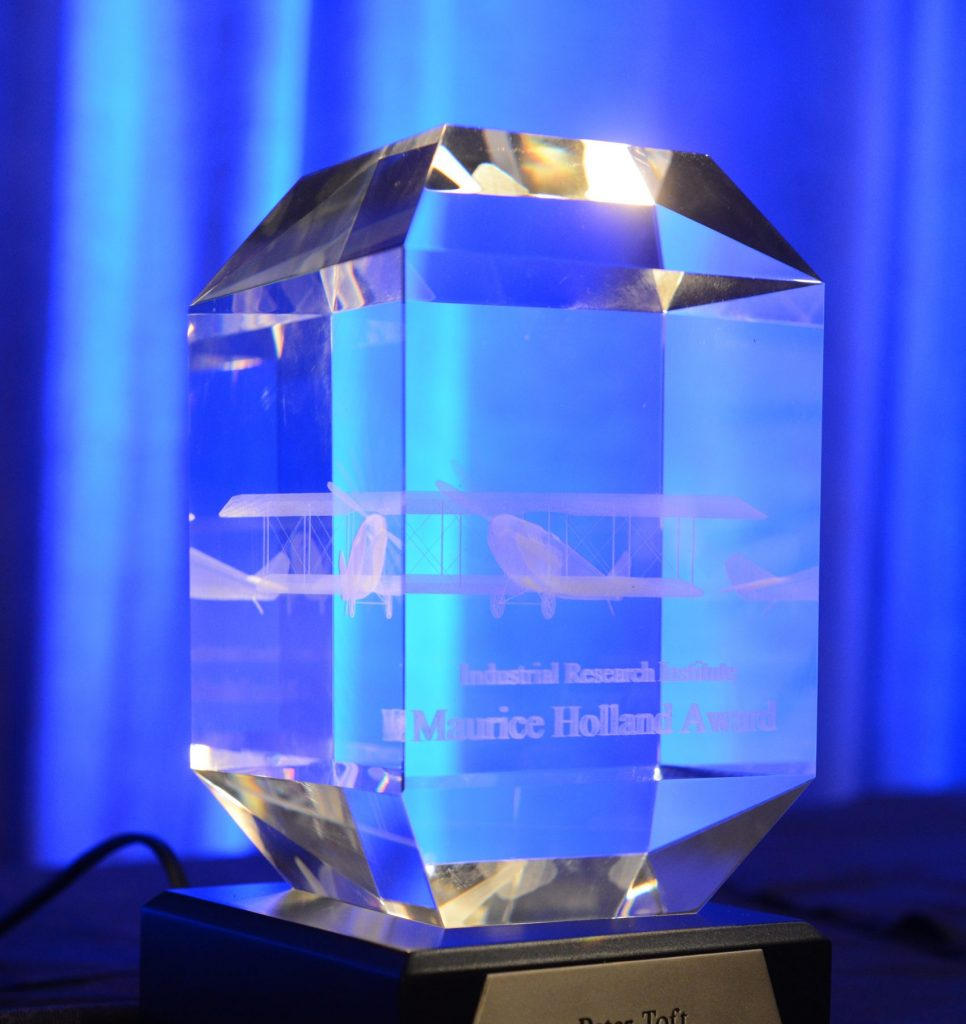 Holland Award Crystal